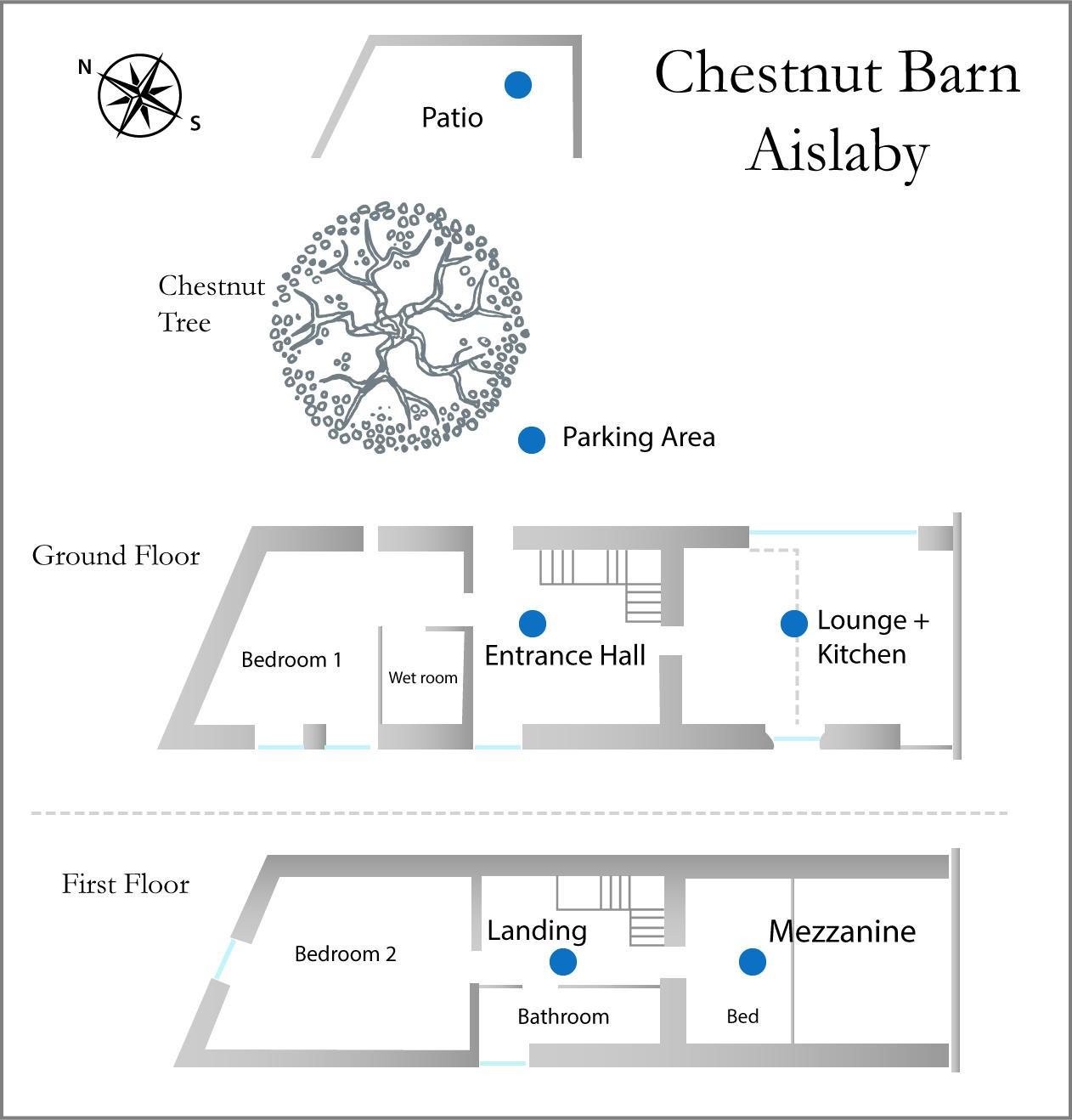 Chestnut Barn floor plan
