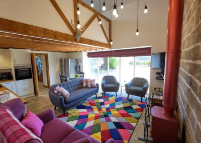 Lounge, Chestnut Barn, Aislaby, Whitby, North Yorkshire.