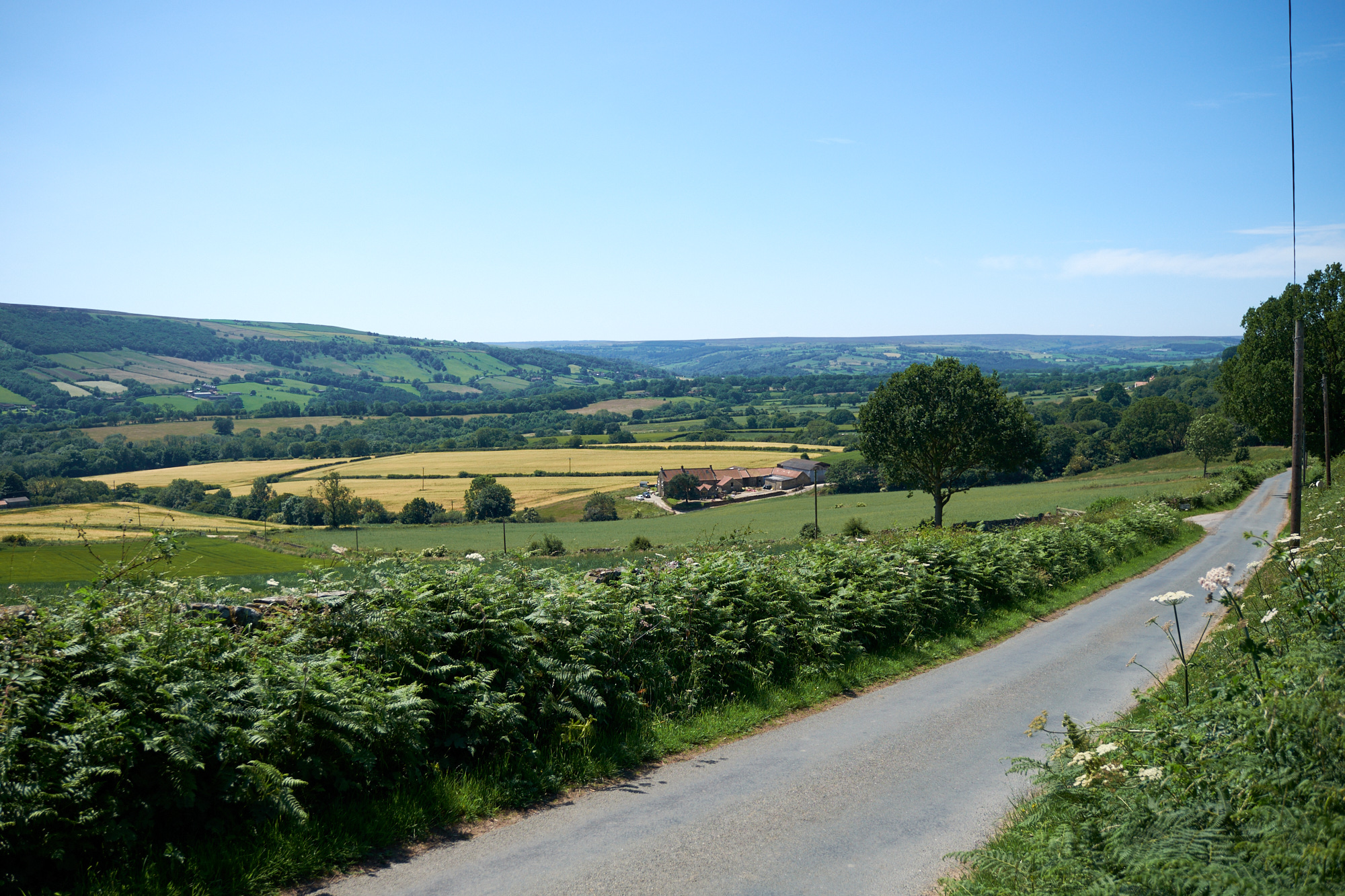 View from Aislaby village