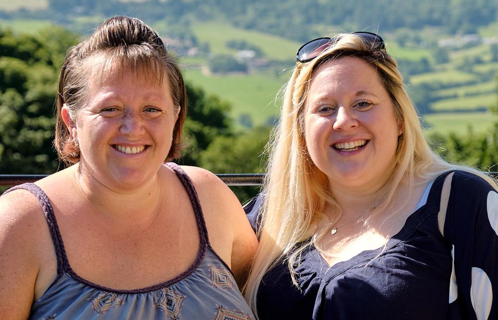 Heidi and Ilona