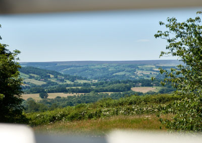 View from Chestnut Barn Velux window