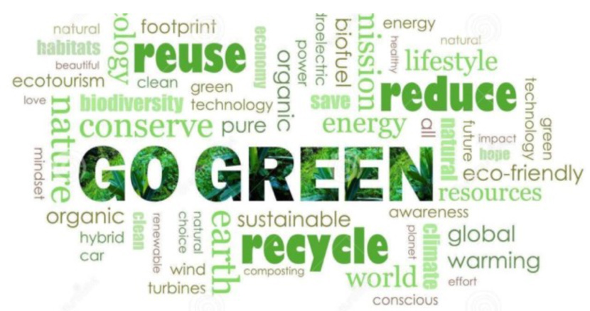Go Green graphic