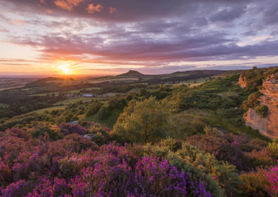 Odin's Hill Roseberry Topping © Laurie Smithies
