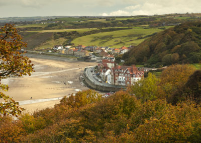 Sandsend in the Autumn © Laurie Smithies